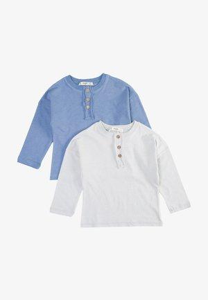 2 PACK  - Pitkähihainen paita - blue