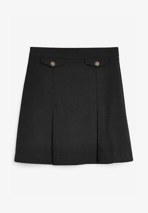 SENIOR - Áčková sukně - black