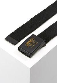 Carhartt WIP - MILIARY PRINTED BELT - Belt - black - 2