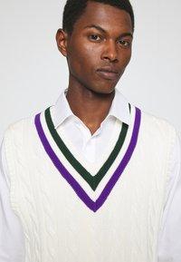 Polo Ralph Lauren - TENNIS VEST - Pullover - cricket cream - 3