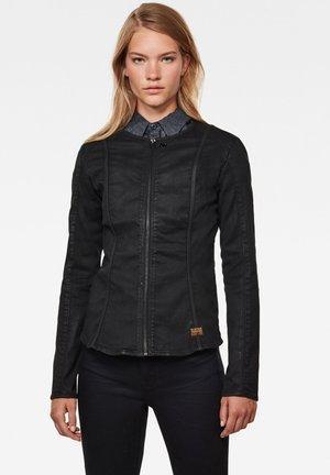 LYNN TYPE 30 TOP LONG SLEEVE - Denim jacket - dk black cobler