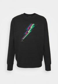 PS Paul Smith - MENS REG FIT LIGHTNING UNISEX - Sweatshirt - black - 4