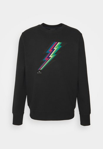 MENS REG FIT LIGHTNING UNISEX - Sweatshirt - black