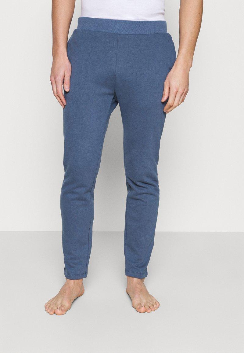 Pier One - LOUNGE JOGGERS - Pyžamový spodní díl - blue