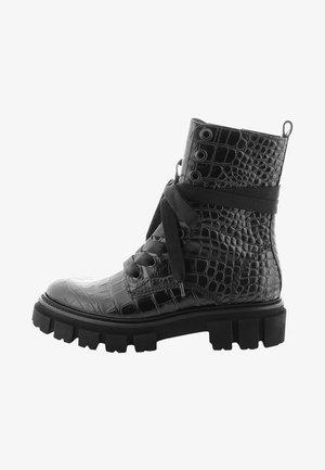VIDA - Lace-up ankle boots - schwarz