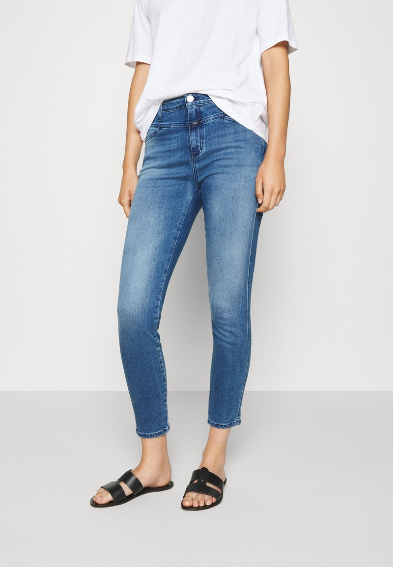 CLOSED - PUSHER - Jeans Skinny Fit - mid blue