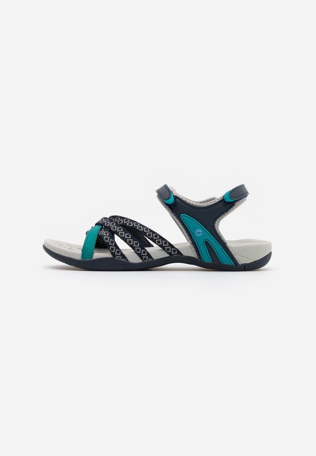 SAVANNA II  - Walking sandals - night/navigate/mint