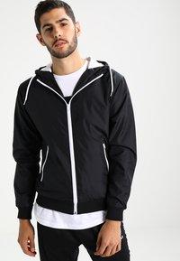 Urban Classics - Light jacket - black/white - 0