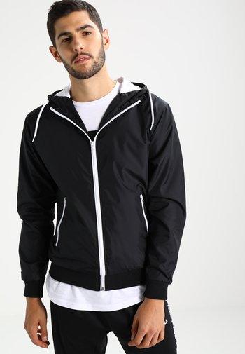 Light jacket - black/white