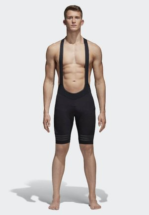 adistar Engineered Woven Bib Shorts - Leggings - black