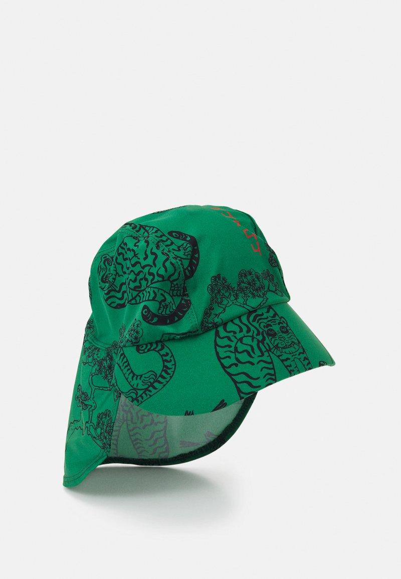 Mini Rodini - TIGERS UV UNISEX - Sombrero - green