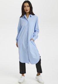 Kaffe - Shirt dress - chambray blue - 1