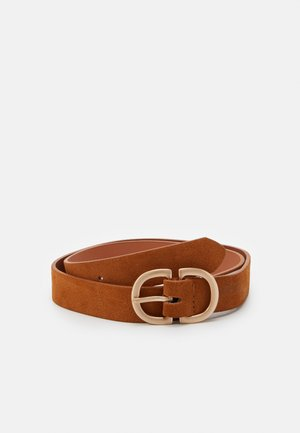PCJUVA JBELT - Belte - cognac/gold-coloured