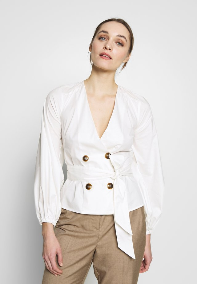 AVIDITY TOP - Blouse - white
