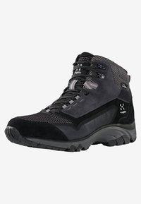 Haglöfs - SKUTA MID PROOF ECO - Hiking shoes - black/grey - 2