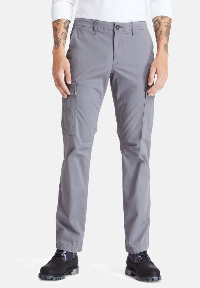 CORE - Cargo trousers - castlerock