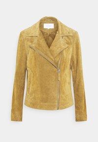 VIUSE BIKER JACKET - Leather jacket - butternut