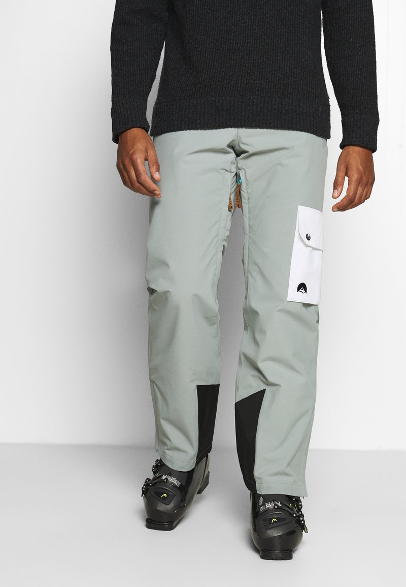 OOSC - FRESH POW PANT - Snow pants - grey