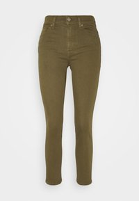 ROXANNE ANKLE COLORED BAIR AGAVE - Jeans Skinny Fit - green