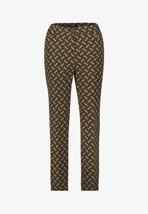Trousers - schwarz/grün