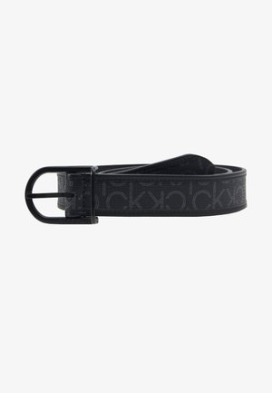 BRIDGE BUCKLE MIX MONO - Riem - black