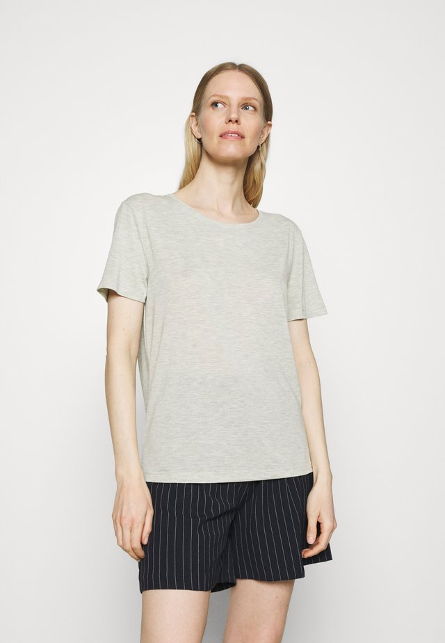 CREW  - T-shirt basic - khaki
