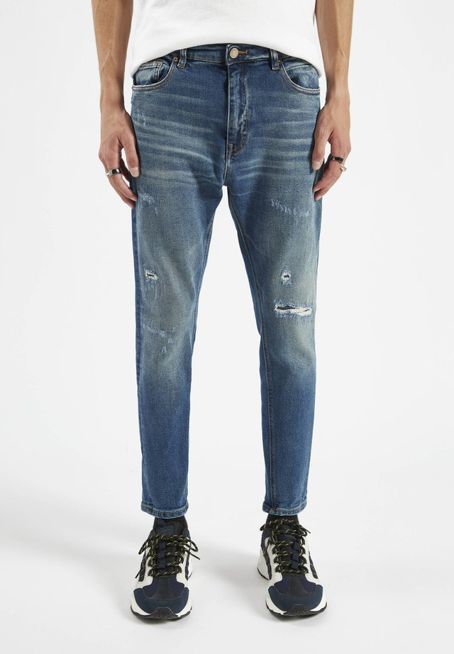 Jeans Tapered Fit - stone blue denim