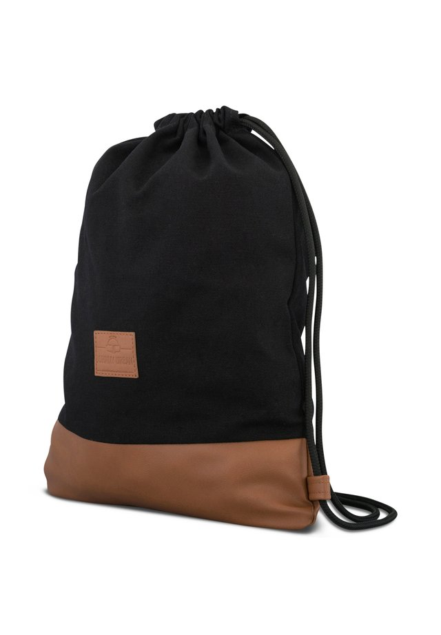 TURNBEUTEL LUKE - Sports bag - black, brown