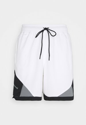 DRY AIR DIAMOND SHORT - Sports shorts - white/black/smoke grey