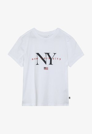 NEW YORK - T-shirt imprimé - white