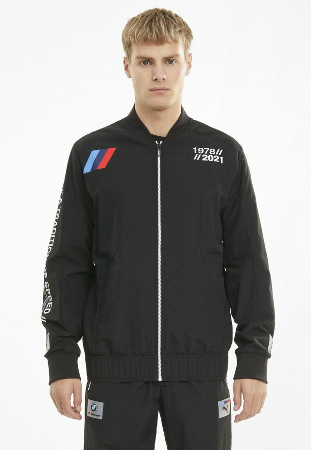 MOTORSPORT  - Bomber Jacket - puma black