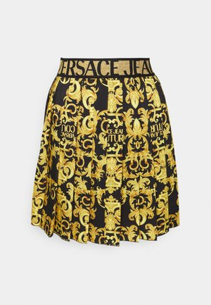 LADY SKIRT - Falda plisada - black
