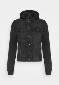 SIKSILK - JACKET - Denim jacket - black - 3