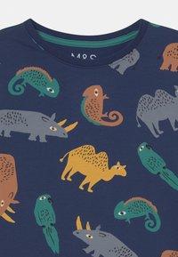 Marks & Spencer London - IGUANA UNISEX - Pyjama set - navy - 3
