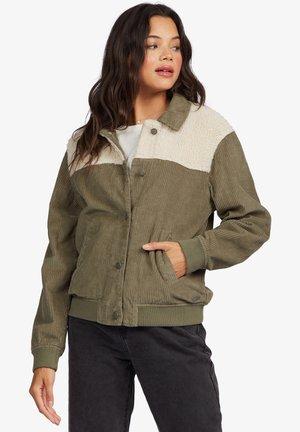 Light jacket - four leaf clover
