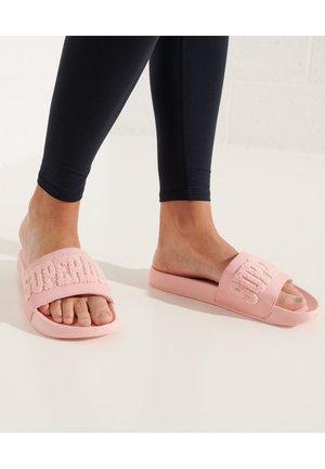 HIGH BUILD LOGO  - Sandali da bagno - pink clay
