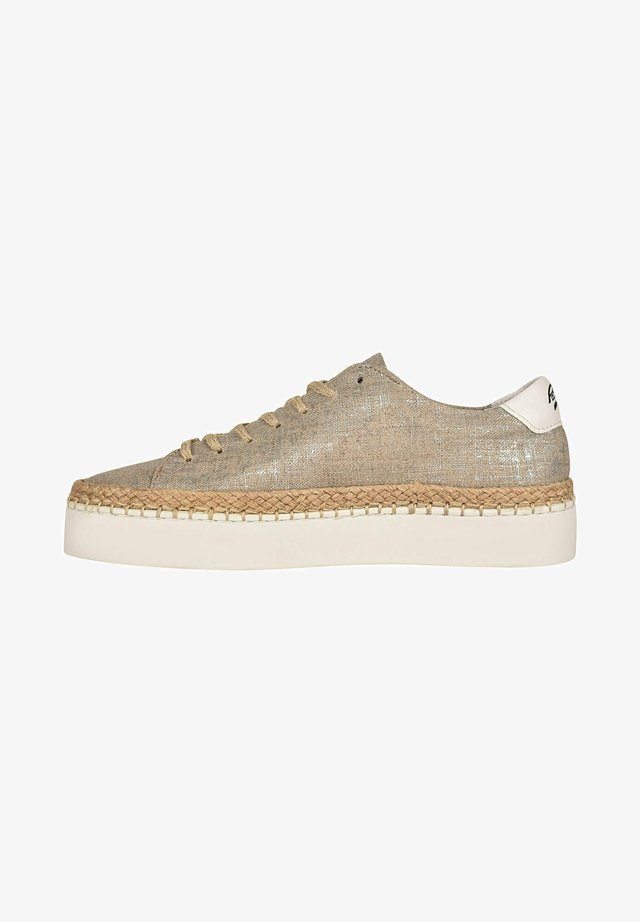 SELLA/T F2F - Sneakersy niskie - silver