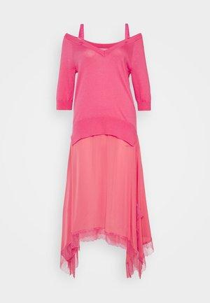 ABITO - Maxi šaty - rose neon