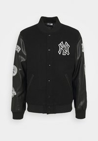 New Era - NEW YORK YANKEES MLB HERITAGE VARSITY JACKET - Kurtka sportowa - black - 4