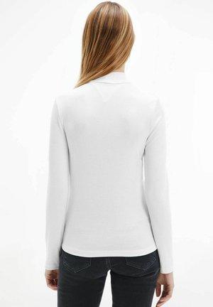 Long sleeved top - weiss