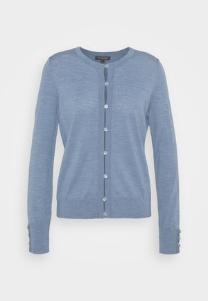 CREW CARDIGAN - Cardigan - light blue