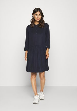 DRESS SHORT SLEEVE - Vestido camisero - scandinavian blue