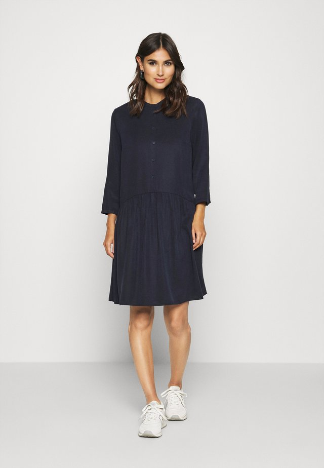 DRESS SHORT SLEEVE - Abito a camicia - scandinavian blue