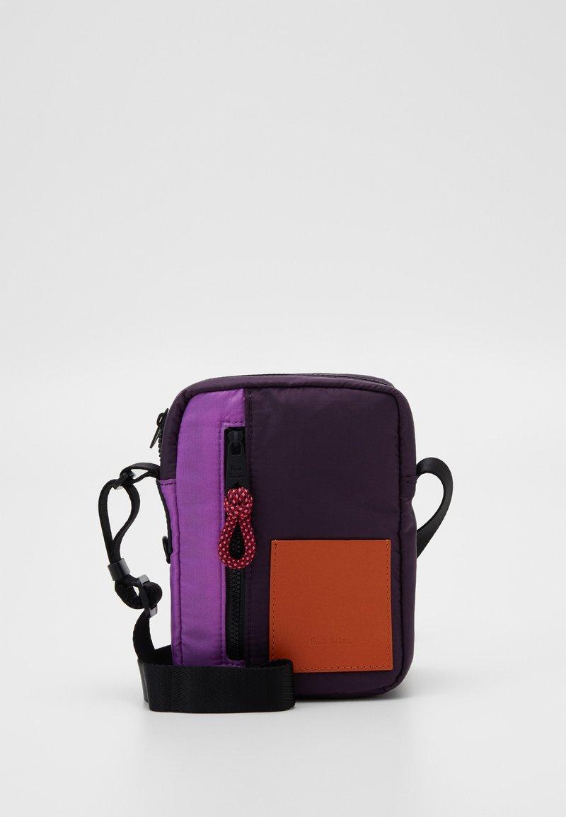 Paul Smith - WOMEN BAG CROSS BODY - Taška spříčným popruhem - purple