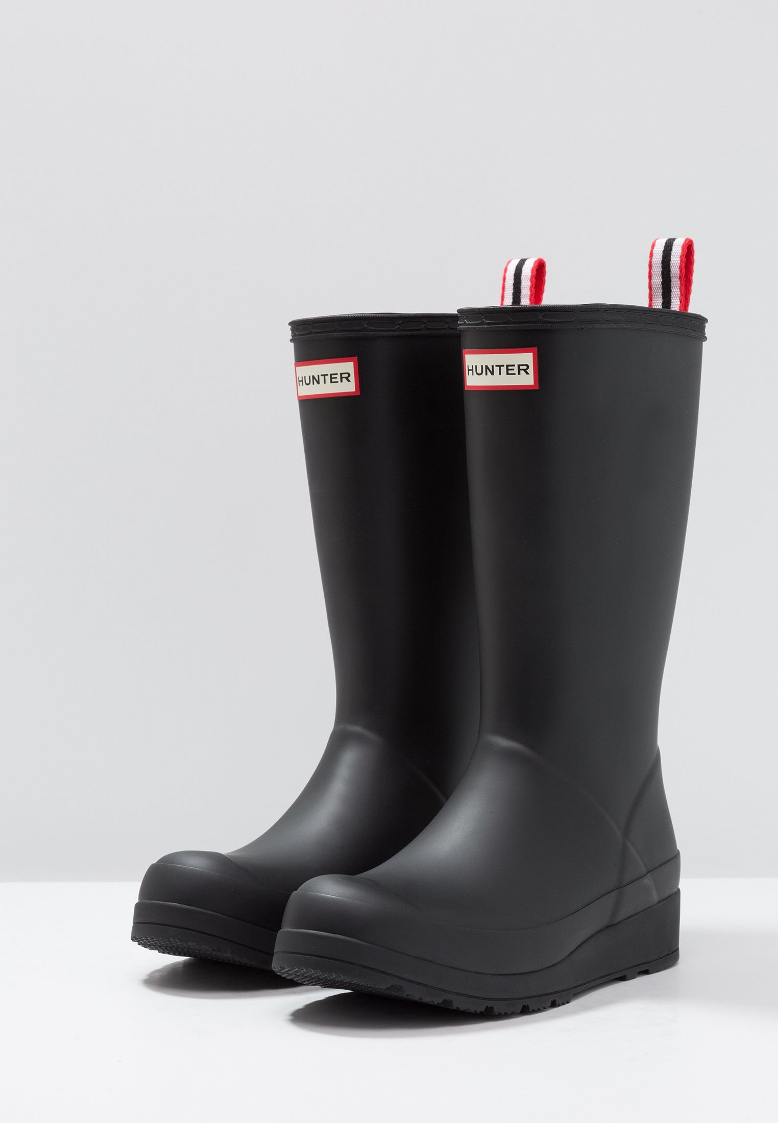 Hunter ORIGINAL ORIGINALPLAY BOOT TALL - Bottes en caoutchouc - black - Bottes femme Designer