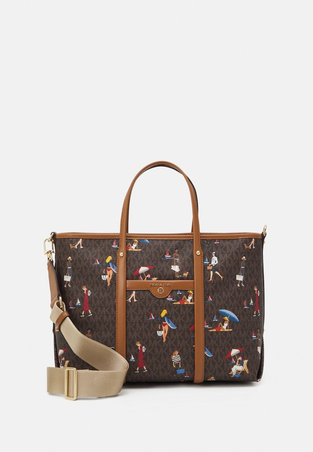 TOTE - Handtasche - brown/multi