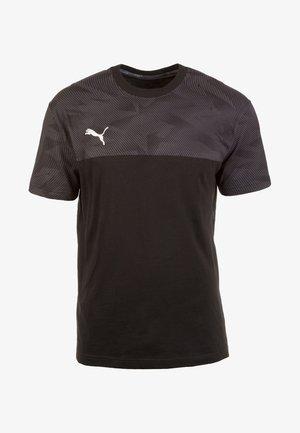 CUP CASUALS TRAININGSSHIRT - Sports shirt - black
