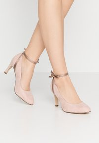 Tamaris - Klassiske pumps - rose metallic - 0