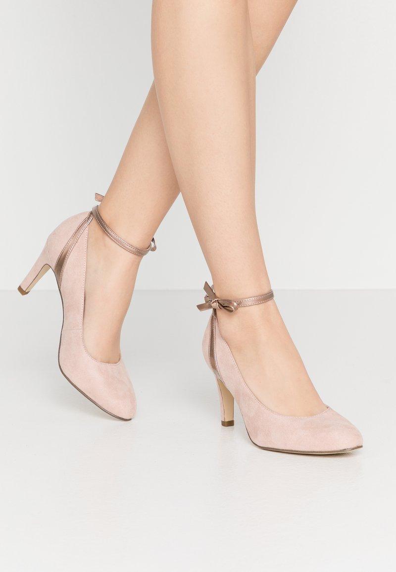 Tamaris - Klassiske pumps - rose metallic