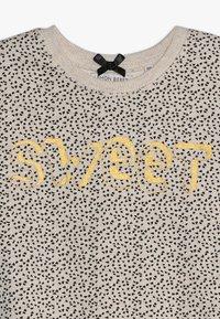 Lemon Beret - SMALL GIRLS DRESS - Freizeitkleid - beige melange - 2